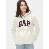 Gap女裝套頭休閒衛衣上衣495410-灰白色