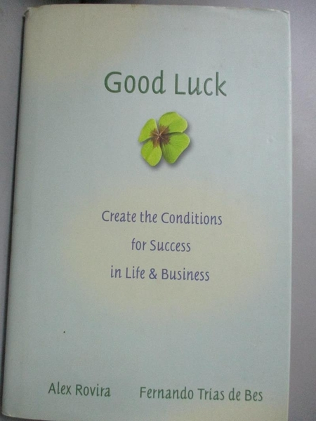 【書寶二手書T1/傳記_LNS】Good Luck: Creating the Conditions for Success in..._Rovira