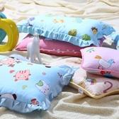 店長推薦 臥欣全棉兒童枕頭幼兒園枕頭卡通小孩子寶寶枕頭3~6歲小學生枕頭