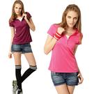 【SAMLIX 山力士】女 短袖涼爽紗排汗衫(#SP210紫色.桃紅色)