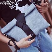 韓版時尚手拿包百搭簡約休閒簡約信封包手機包女包【非凡上品】h550