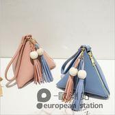 韓版流蘇手拿包手機包手提包秋可愛小包包「歐洲站」