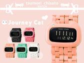 旅貓津森千里 tsumori chisato獨家日系手錶 Journey Cat限量錶款 柒彩年代【NE776】原廠公司貨