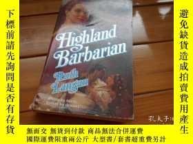 二手書博民逛書店Highland罕見Barbarian 高地野蠻人Y19865