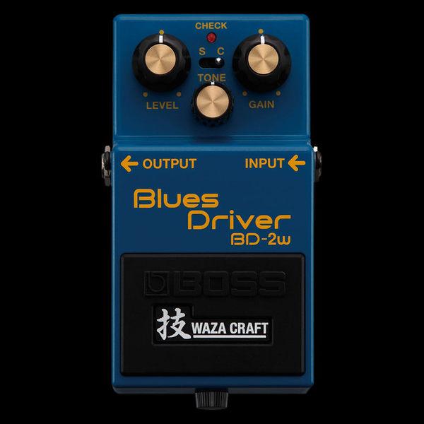 【金聲樂器廣場】2014 Roland最新發表 Boss BD-2W 單顆破音效果器 Blues Drive