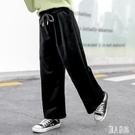 女童寬褲闊腿褲春新款洋氣5到6七八9十歲8中童韓版休閒褲小女孩褲子 LR21068『麗人雅苑』