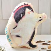 義大利Fancy Belle X furryfurry《瑜珈貓》數位造型抱枕 41*40CM