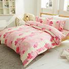 床包被套組精梳棉  雙人加大-幸運之星...