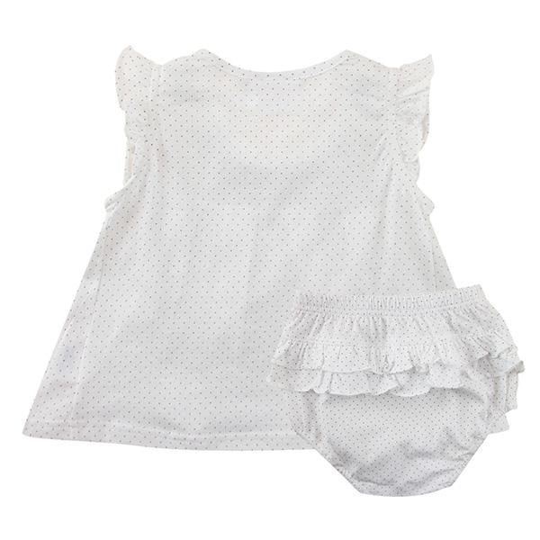 【愛的世界】純棉圓領荷葉邊無袖洋裝/2~3歲-台灣製- ---春夏洋裝 涼夏推薦