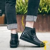 現貨 雨鞋男短筒春夏水鞋雨靴防水鞋廚房防滑【雲木】