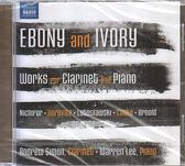 【正版全新CD清倉 4.5折】Ebony and Ivory - Works for Clarinet and Piano