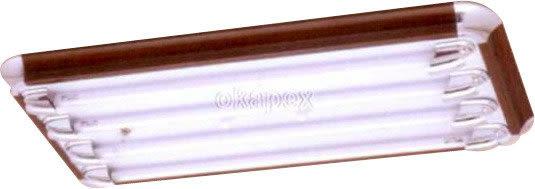 【燈王的店】台灣製 LED T8 2尺四管美術型 專用燈具 + 電子開關 (燈管另購) ☆ LED-SK20431