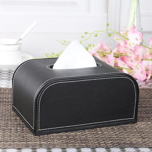 車用紙巾盒/套汽車紙巾盒車載紙巾盒抽紙盒皮革座式創意 快速出貨