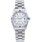 Olym Pianus 奧柏表 都會爵士時尚晶鑽腕錶/24.8 mm