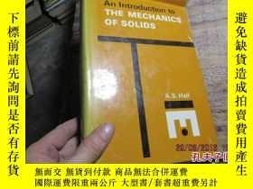 二手書博民逛書店an罕見introduction to the mechanic