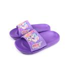 偶像學園 拖鞋 防水 紫色 中童 童鞋 ID0745 no830
