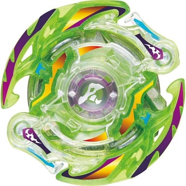 戰鬥陀螺 爆烈世代 BURST#95 04綠烈焰邪神 強化組 VOL.8  確認版(不含發射器) TAKARA TOMY