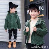 男童外套新款燈芯絨兒童棉衣寶寶秋冬款韓版加厚上衣3-14歲潮   美斯特精品