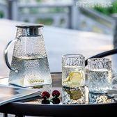 冷水壺玻璃耐高溫家用茶壺套裝大容量水杯防爆加厚白開水壺 貝芙莉女鞋