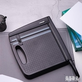 切紙機A4裁剪刀打印復印紙卡紙封面紙塑封塑料膜多功能多用途辦公用品 zh7035『美好時光』
