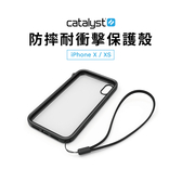 Catalyst iPhone Xs Max 6.5吋 防摔耐衝擊保護殼 3米防摔 保護框 手機殼 軍規 旋轉靜音開關 蘋果