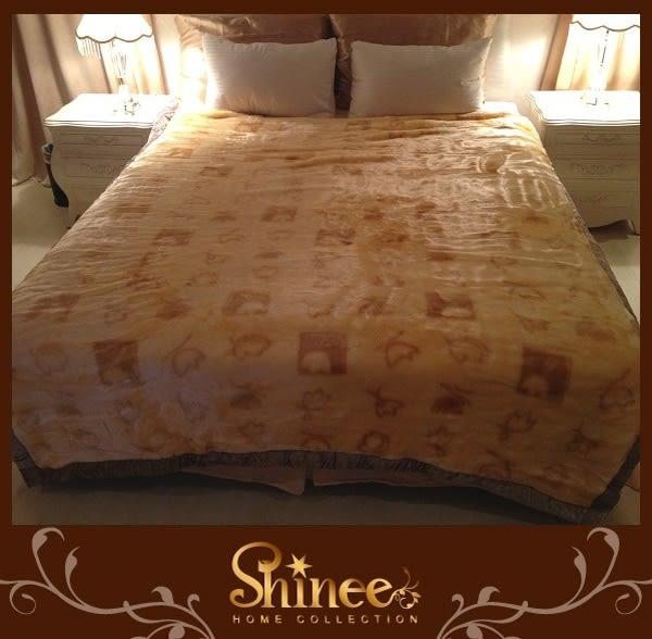 SHINEE 特級《歡樂水族箱》貂毛歐風超長毛超柔毯1入 毯子 毛毯 棉被 被子//超低特價中