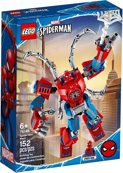 樂高LEGO SUPER HEROES 蜘蛛人機甲 76146 TOYeGO 玩具e哥