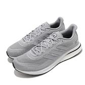 adidas 慢跑鞋 Supernova M 灰 白 男鞋 Boost Bounce 混合中底 運動鞋【ACS】 FV6027