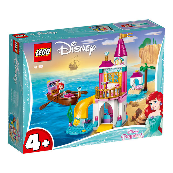 LEGO樂高 DISNEY 41160 Ariel's Seaside Castle 積木 玩具