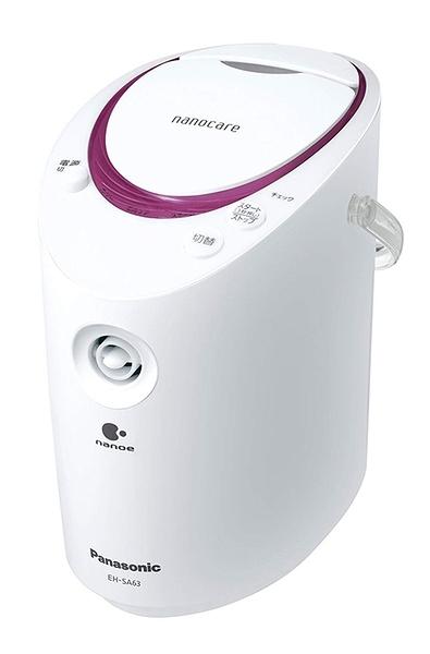 Panasonic【日本代購】松下奈米離子 美容儀 蒸臉器 芳香片 兩用型EH-SA63-P
