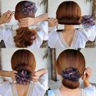 盤髮器 盤髮器丸子頭造型器韓國頭飾花苞頭神器百變蓬鬆懶人髮帶紮頭髮飾 店慶降價