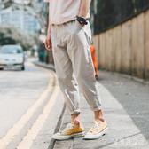 九分束腳哈倫褲 2019春新款休閒男褲子韓版潮流寬鬆褲薄款 BF22486『寶貝兒童裝』