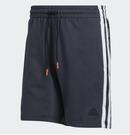 Adidas-D.O.N. ISSUE #2 男版深藍運動短褲-NO.GI6669