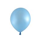 5吋珠光氣球10入-寶貝藍