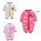 鋪棉加厚寶寶連身衣  嬰兒兔裝 長袖保暖...