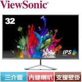 ViewSonic優派 32型無框美型液晶螢幕 VX3276-mhd