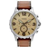 【Wowlook】Fossil Men's JR1503 三眼計時腕錶 男錶
