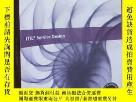 二手書博民逛書店ITIL罕見Service Design : 2011 Edition (大16開)Y5460 The Sta