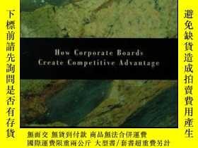 二手書博民逛書店Boards罕見At Work: How Corporate Boards Create Competitive