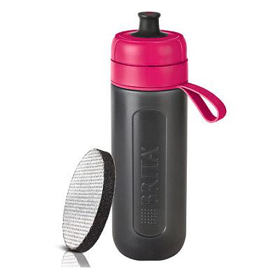 BRITA Fill&Go Active 運動濾水瓶 0.6L (桃紅色)
