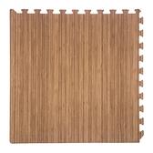 竹紋安全地墊-60x60x1.2cm4入(含邊條)