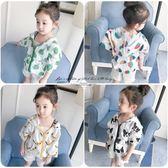 女童嬰兒童裝裝女寶寶外套開衫薄款小童空調服外出服01-2-3歲4『櫻花小屋』