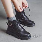 chic馬丁靴女新款英倫風學生韓版百搭ins女靴春秋季短靴子冬 korea時尚記