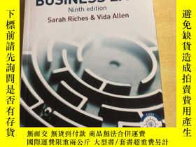 二手書博民逛書店Keenan罕見& Riches' Business Law (