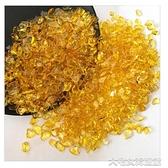 水晶石銅聚寶盆擺件黃水晶家居裝飾品擺件合金小元寶黃水晶碎石裝飾品 快速出貨