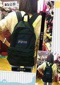 快速出貨 JANSPORT 原廠校園型後背包 耐看 實用~ 黑色 (JS43911) (免郵大放送) (小)