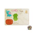【收藏天地】印章明信片*開心小象 ∕  印章 擺飾 送禮 趣味 文具 創意 觀光 記念品