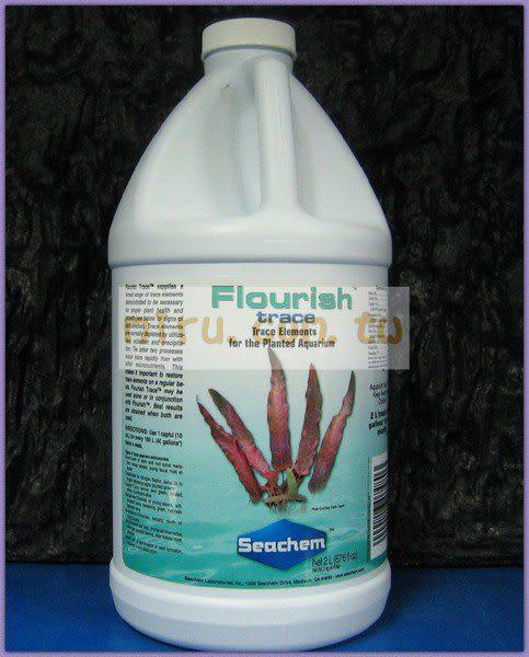 【西高地水族坊】美國原裝進口 Seachem西肯 水草微量元素(2000ml)