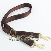 包郵2.5厘米咖啡色棕色包帶 男女包帶子 肩帶斜挎包帶長背帶配件