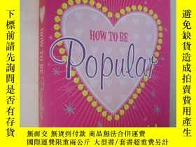 二手書博民逛書店How罕見to be PooularY85718 Meg Cab